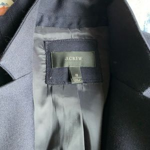 J Crew Jacket Navy 12